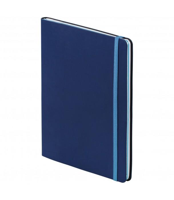 Блокнот BiColor, синий Адъютант