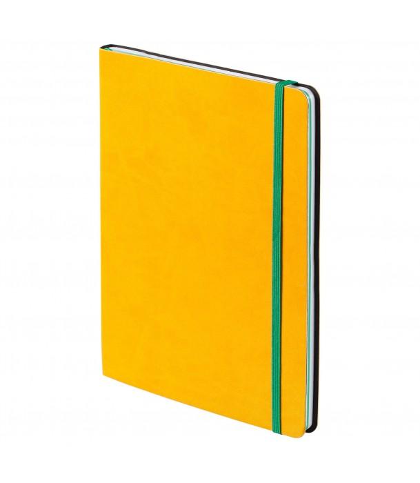 Блокнот BiColor, желтый Адъютант