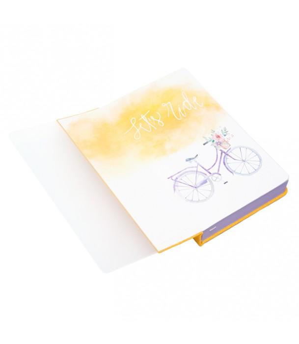 Записная книжка, желтая Bike Адъютант