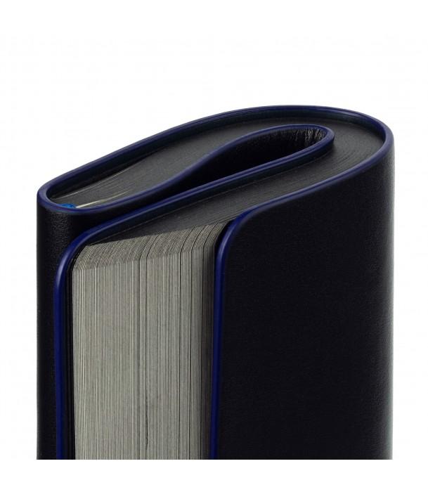 Блокнот в точку Trait, черно-синий Адъютант