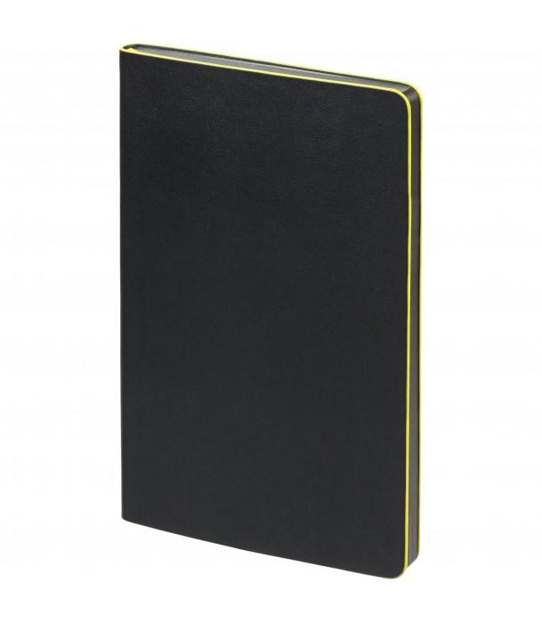 Блокнот в точку Trait, черно-желтый Адъютант