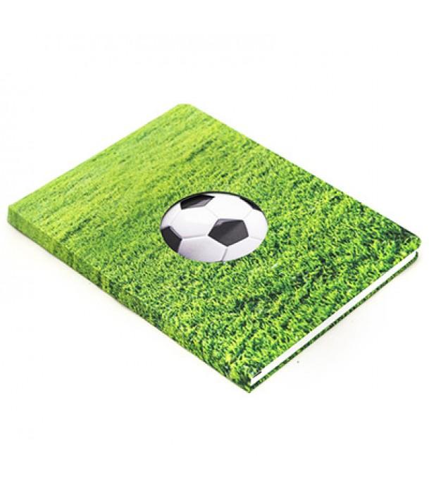 Записная книжка в клетку «Футбол» Адъютант